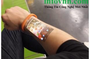 Công nghệ biến da thành màn hình cảm ứng