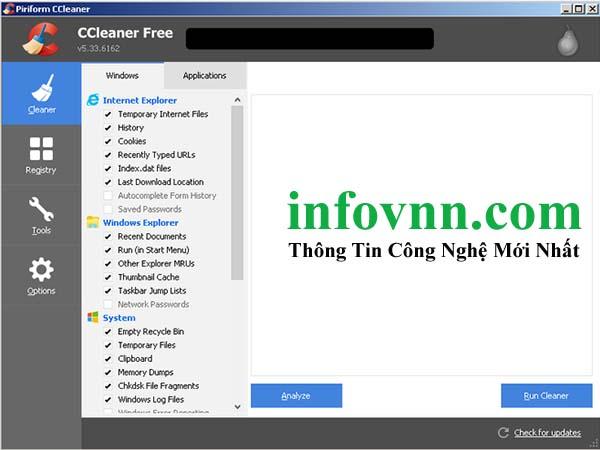 CCleaner bị nhiểm mã độc phiên bản 5.33