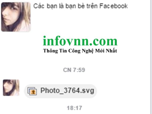 Virus tống tìn phát tán qua tin nhắn facebook