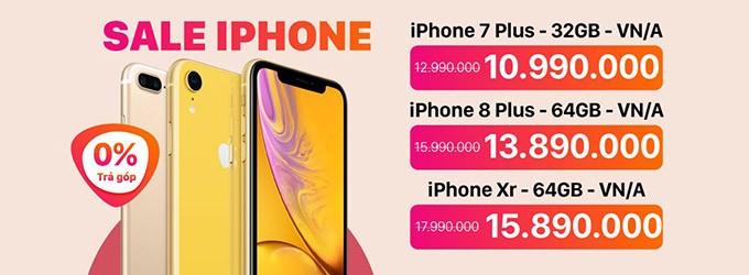 Mua iphone giá rẻ nhất
